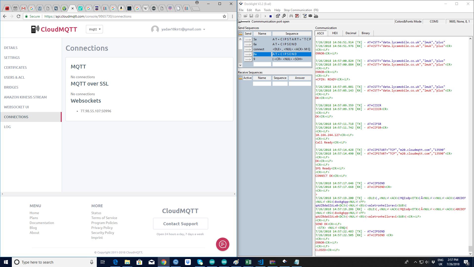 Packets on MQTT-not received - MQTT - Embedded Advice Forum