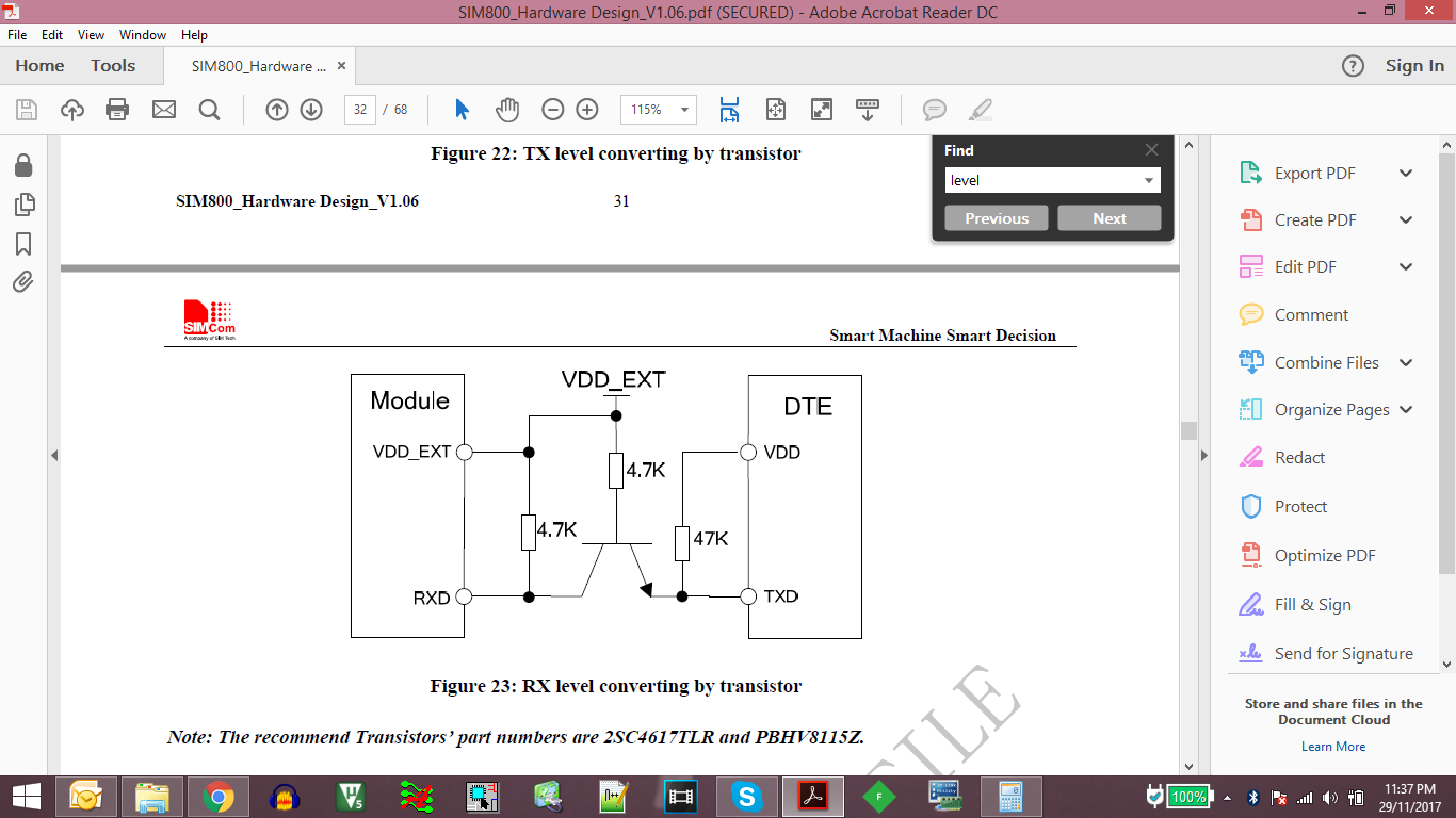 Sim800l Not Connecting To Network Embedded Advice Forum Ttl Level 8211 Rs232 Converter By Max232 The Circuit For Translator Is Given In Datasheet Or Hardware Design Guide Sim800 Please Refer It There Are Other Chips