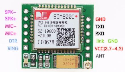 SIM800C module problem - GSM/GPRS Modules - Embedded Advice Forum