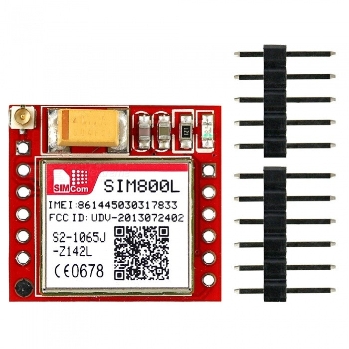 Sim800L call ready sms ready - Uploading images & Power supply