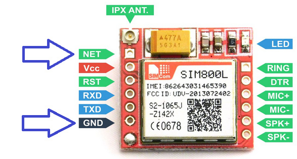 Unable to connect sim800l with network - SIM800L - Embedded