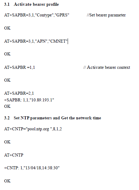 CCLK? AT command not working - GSM/GPRS Modules - Embedded Advice Forum